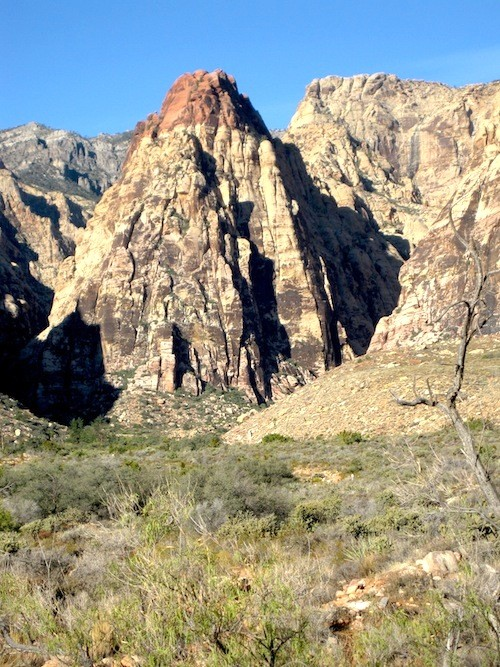 Mercalito Peak, Red Rocks Canyon - Nevada