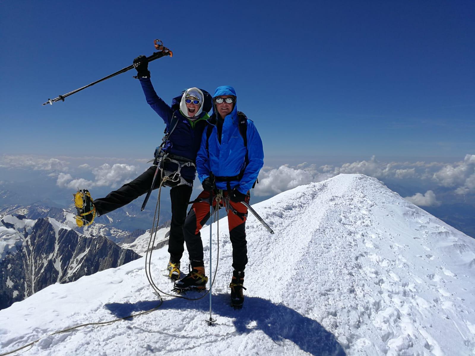 Fantastique ! Françoise et Dom au sommet