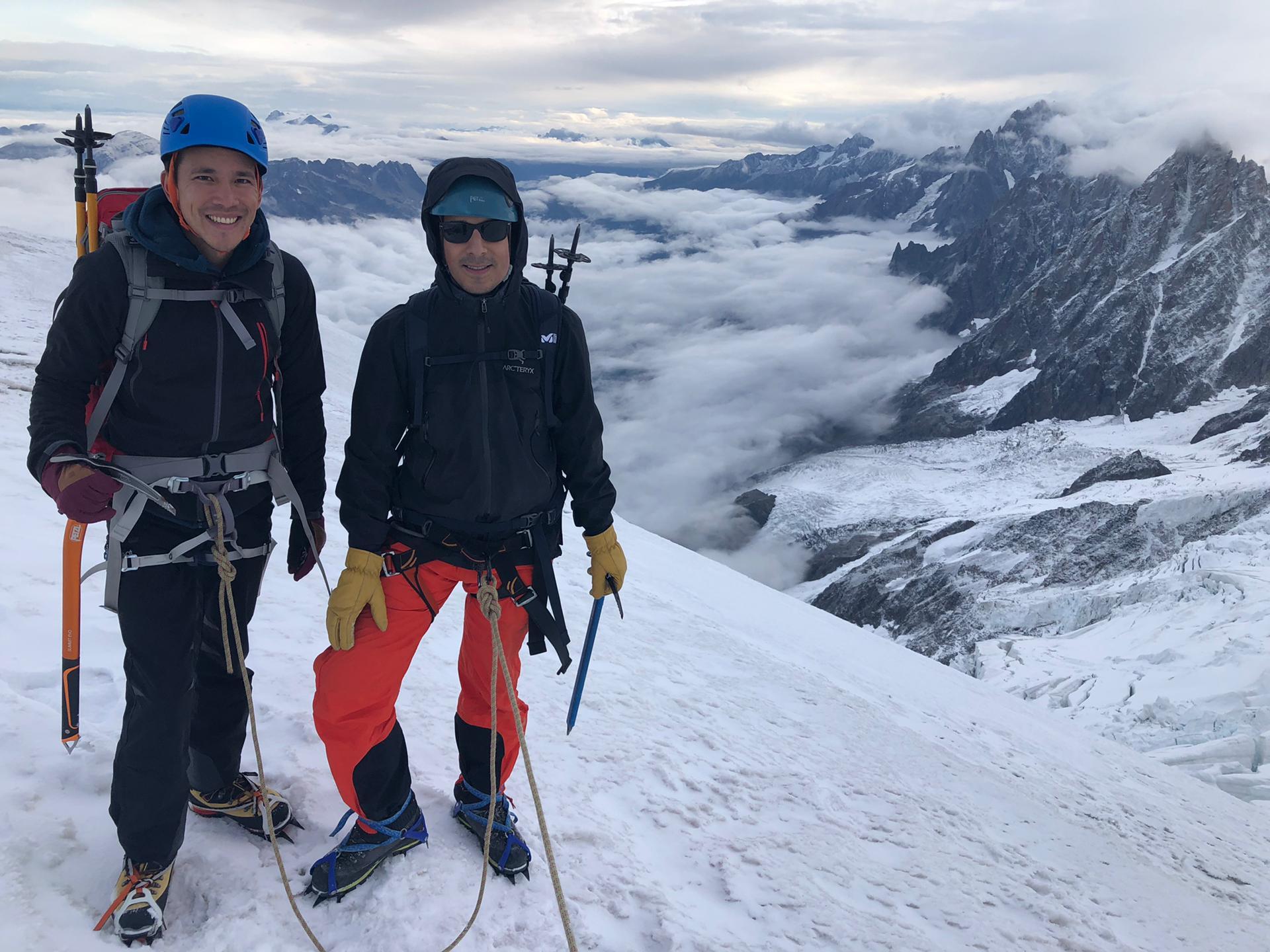 Vue versant Chamonix