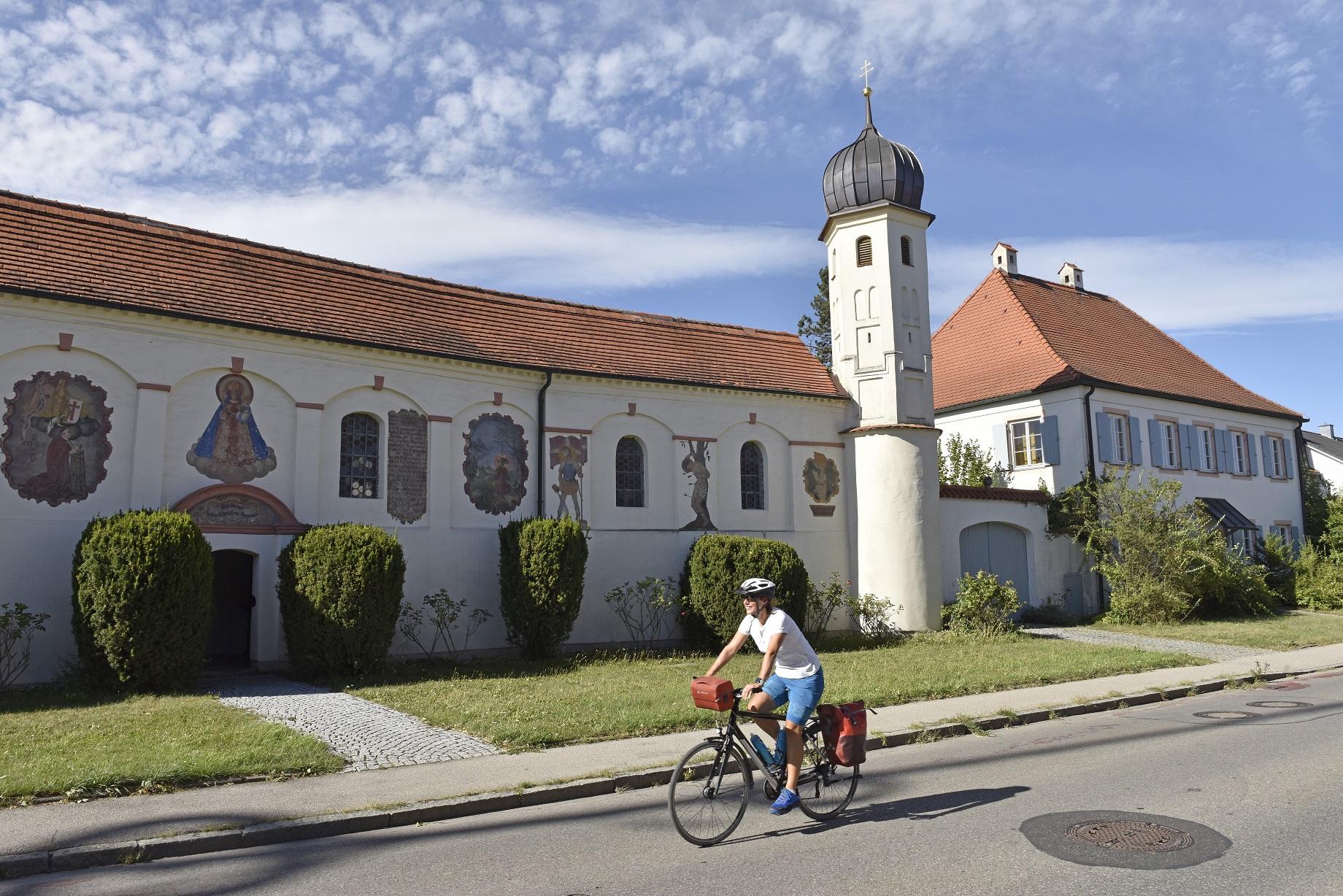 83 km entspannter Fahrspaß auf dem neuen München-Augsburg-Radweg
