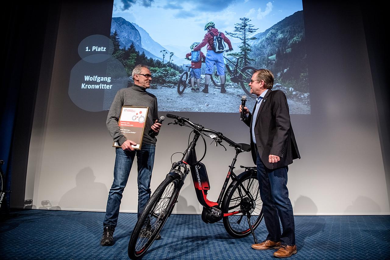 Preisverleihung des Deutschen Fahrradpreises 2020 (Credit: Andreas Endermann /Deutscher Fahrradpreis)