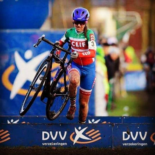 Foto (Cor Vos/Anton Vos) Eva Lechner: in Top-Form Richtung Cross-WM