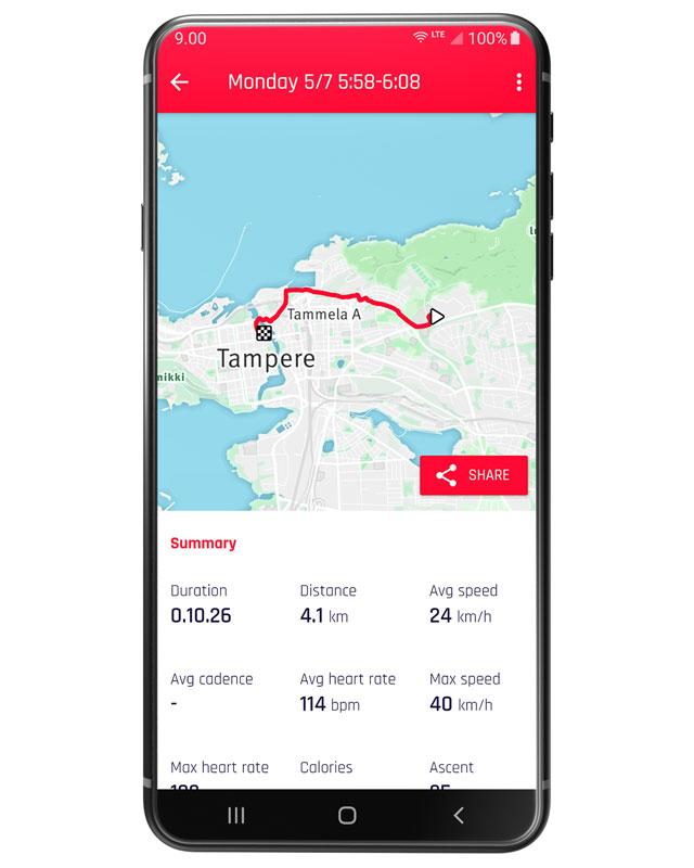 App Navigation Revonte ONE