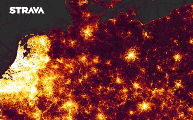 Auf Strava werden pro Woche über 40.000 Pendelaktivitäten allein in Deutschland aufgezeichnet.