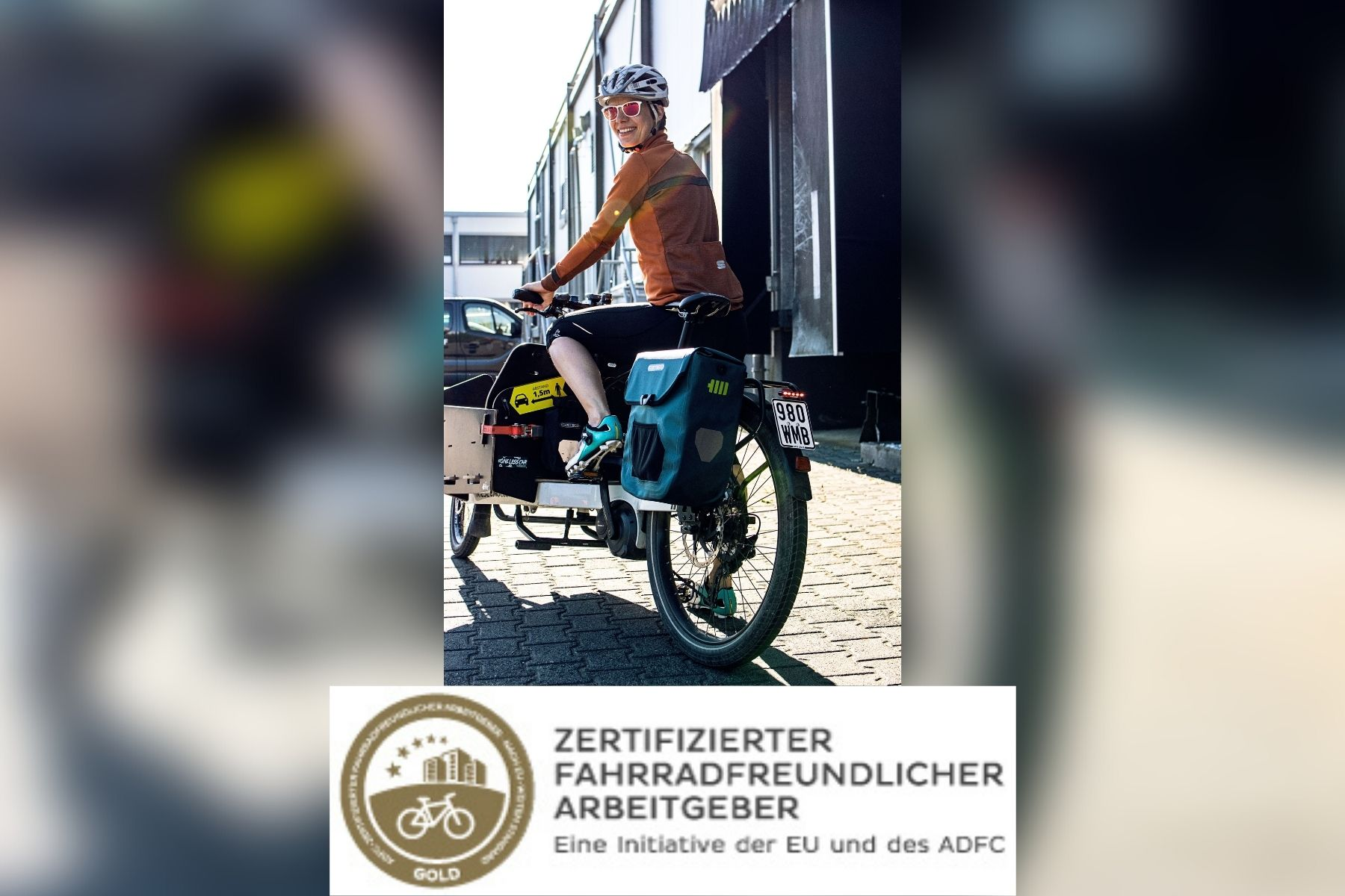 Zertifizierter fahrradfreundlicher Arbeitgeber sucht händeringend Personal