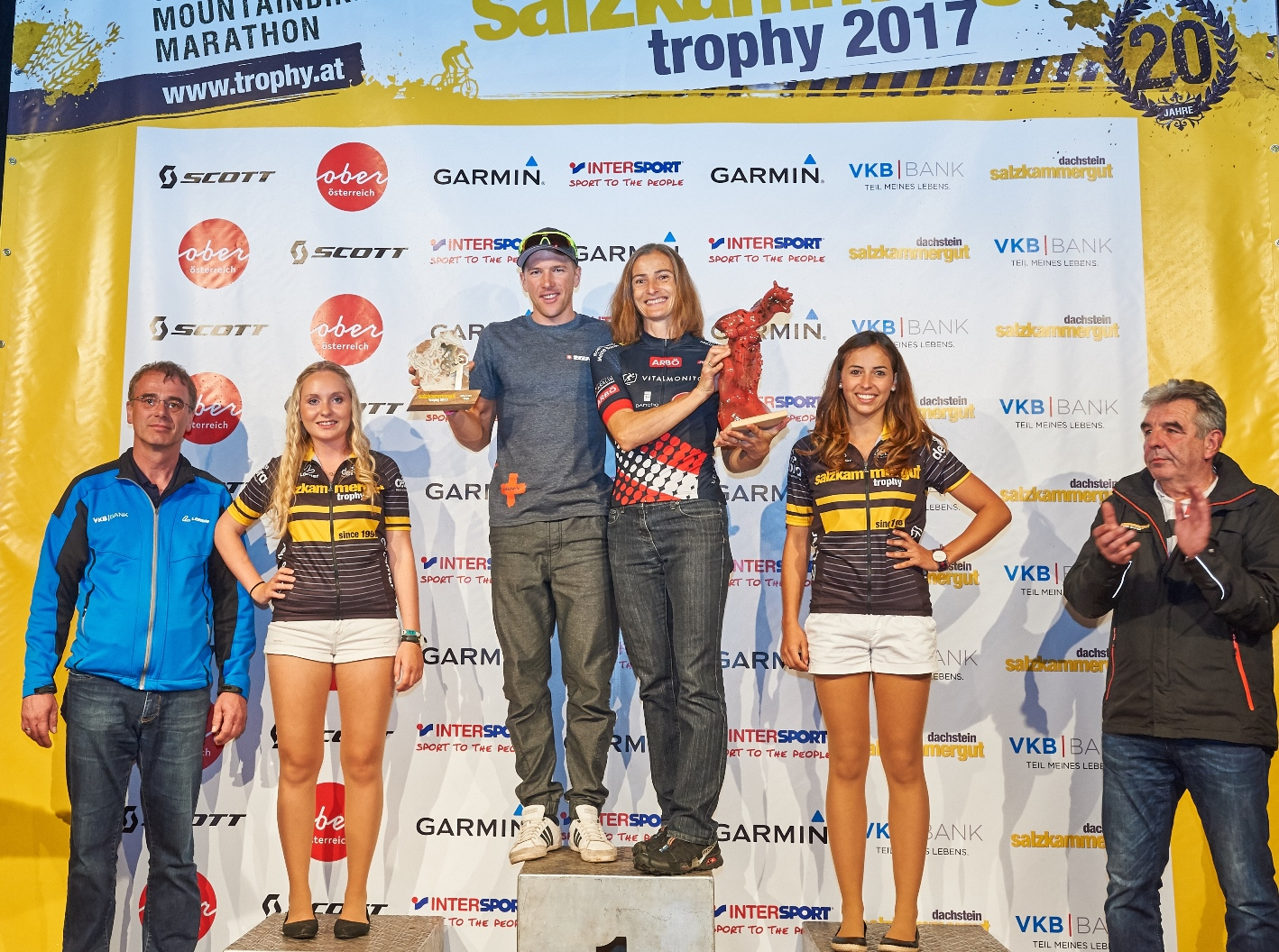 Sieger Extremdistanz Salzkammergut Trophy2017, Bild: MartinBihounek
