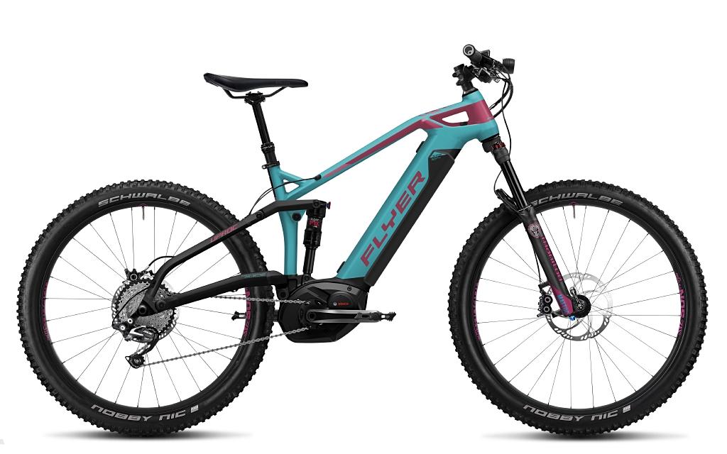 """FLYER E-Mountainbike Uproc3 """"Heidi"""" (Antrieb von Bosch)"""
