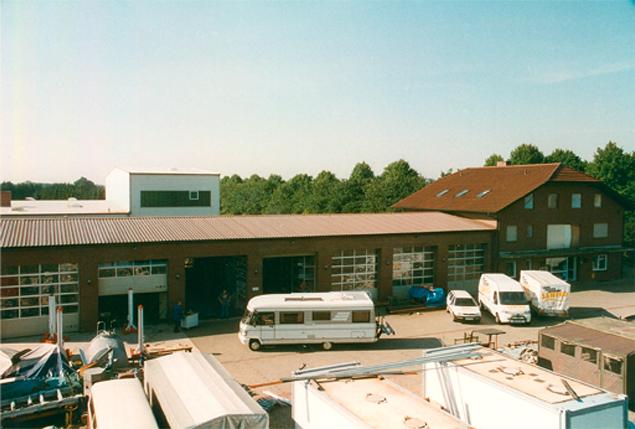 Sawiko Werkstatt bei Gründung in Hunteburg 1995