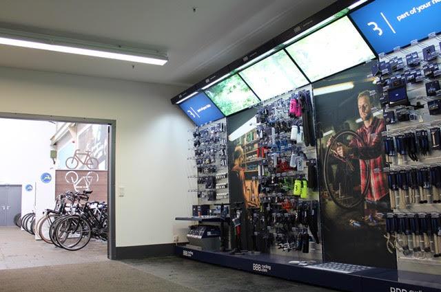 BBB Cycling präsentiert sich nun auch im Gazelle Business- und Trainingscenter in Möchengladbach