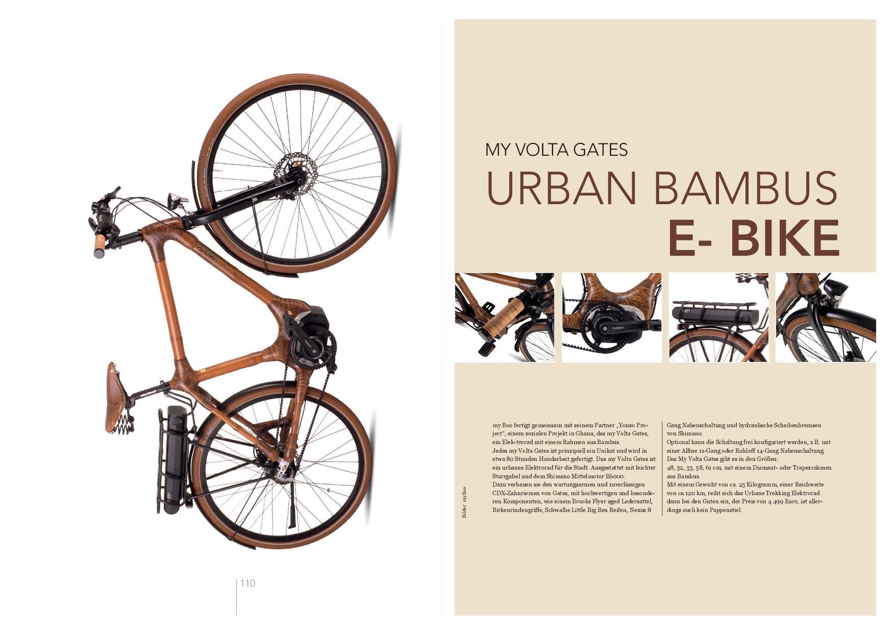 Bikes aus Bambus - myboo