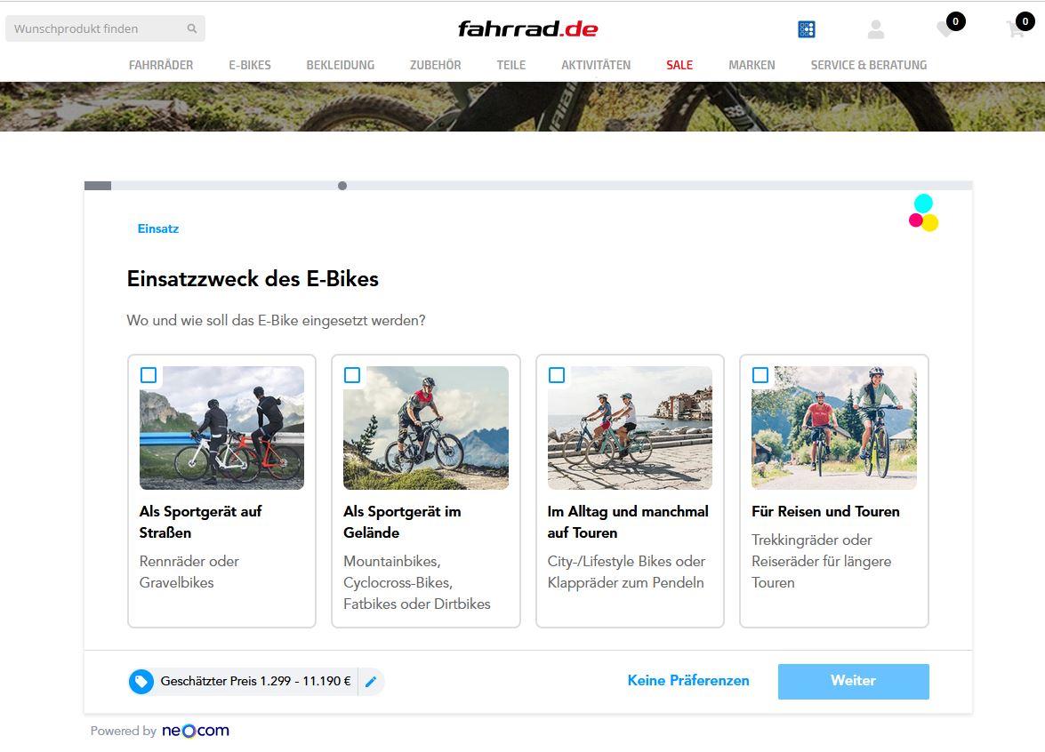 E-Bikes werden auch sportlich genutzt