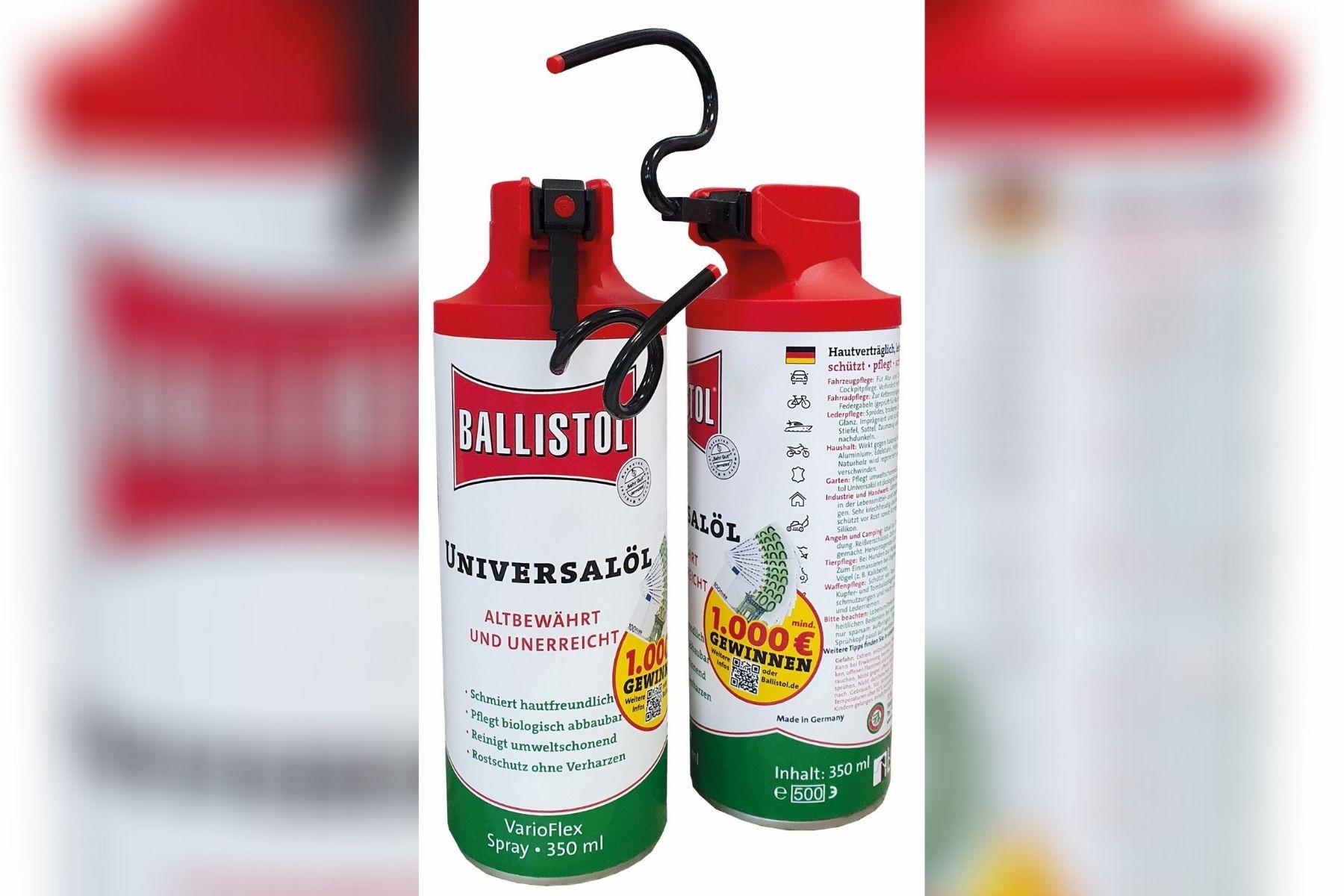 BALLISTOLs VarioFlex-Gewinnspiel geht in die Verlängerung