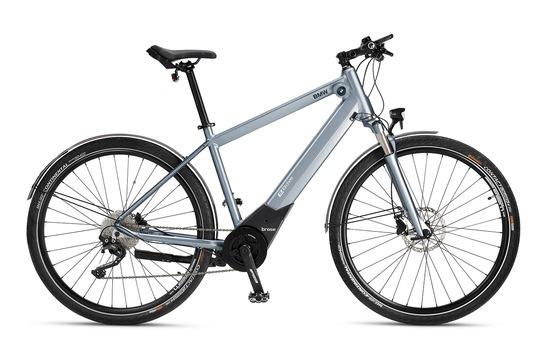 Brose und BMW setzten ihre Zusammenarbeit im E-Bike-Segment fort: Das neue BMW Active Hybrid E-Bike mit Brose Drive S Alu Antrieb