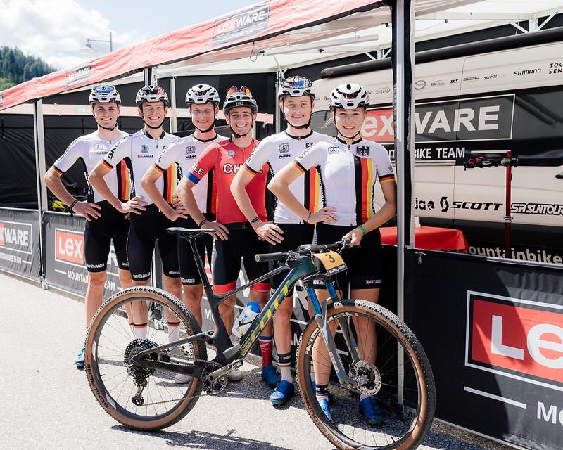 Team-Bronze zum Auftakt der Mountainbike-WM
