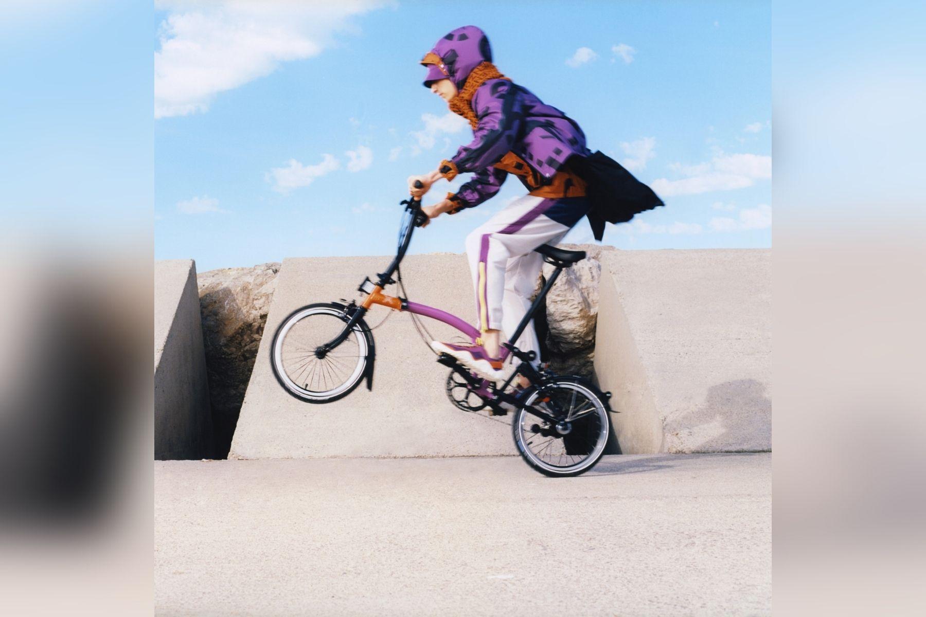 Kenzo x Brompton – Fashion auf 16 Zoll