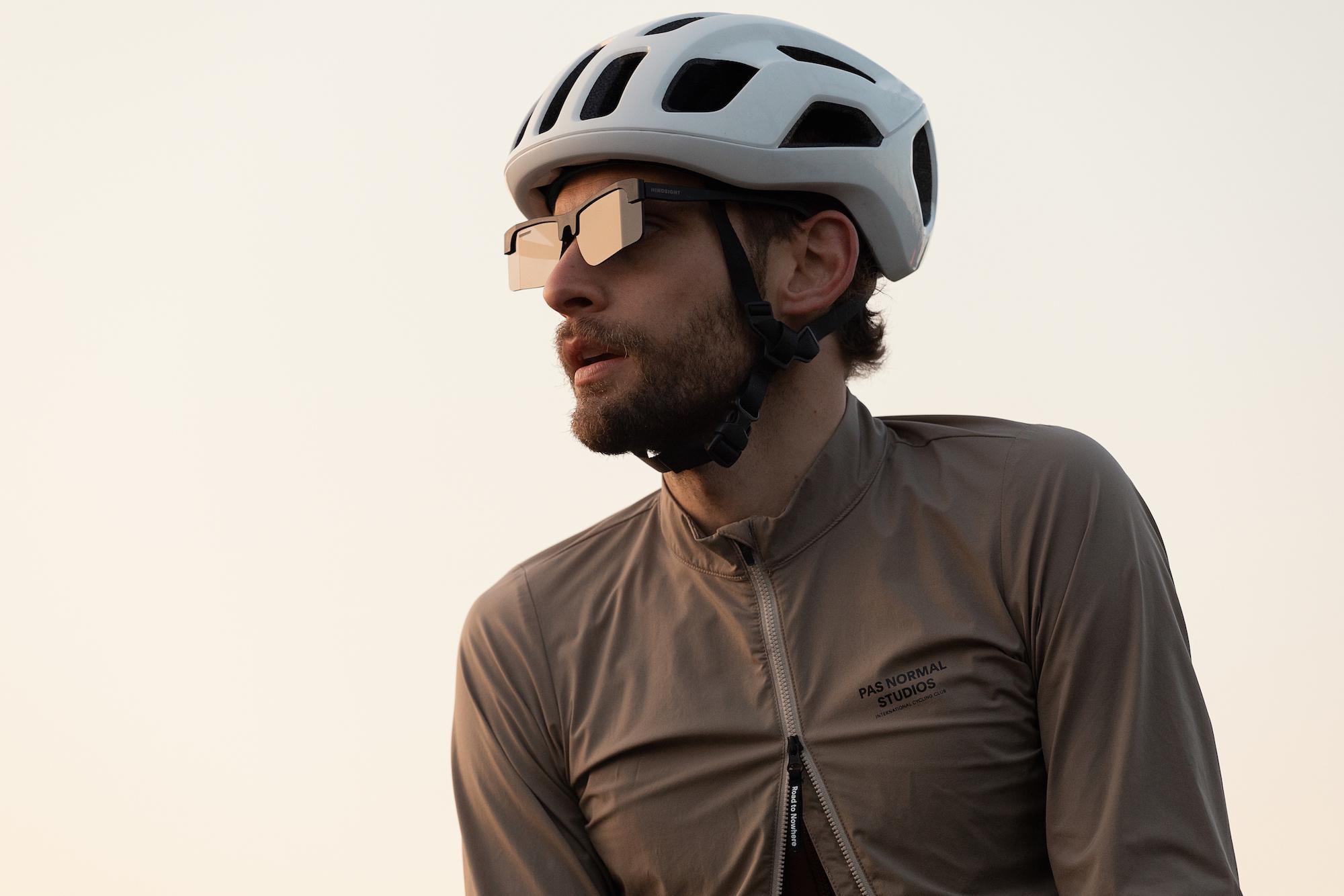 Fahrradbrille mit Rückspiegel geht in weltweiten Verkauf