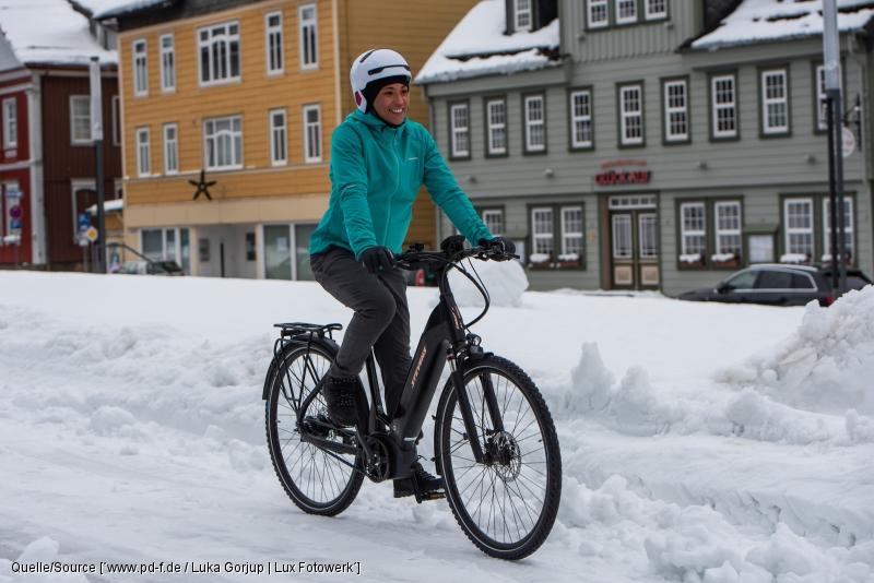 SERVICE: Mit dem Rad ins Schneevergnügen