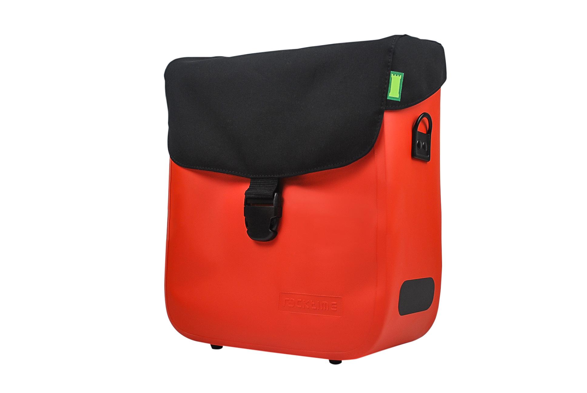 Deckeltasche Tommy (IP63) wird in lavaorange, basaltgrau und onyxschwarz angeboten.