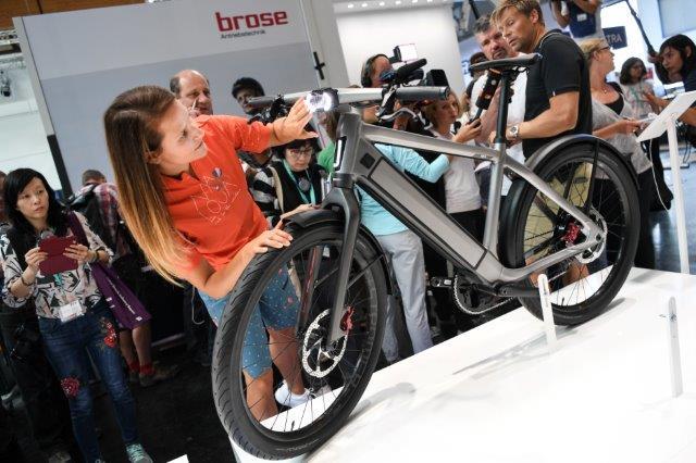 1 350 erwartete Fahrrad-, Zubehör- und Teile-Aussteller aus aller Welt – Starke Nachfrage bei E-Mobilität
