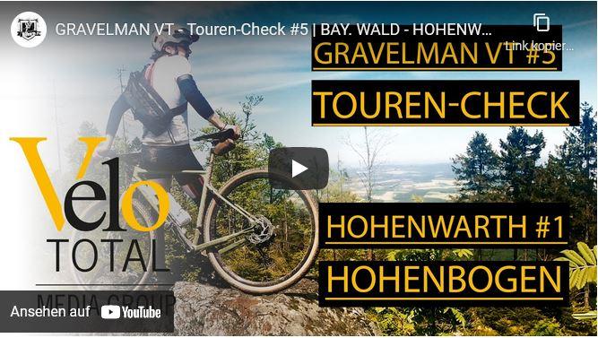 VIDEO: GRAVEL BIKE VLOG - Tour #5 — BAY. WALD - HOHENWARTH #1 - HOHENBOGEN