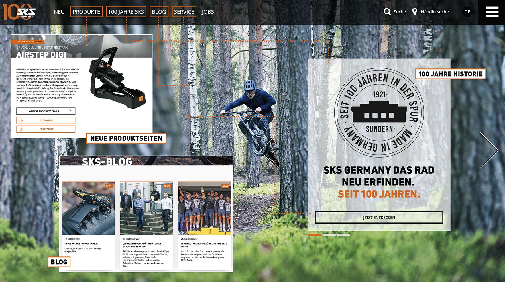 SKS GERMANY mit frischer Webpräsenz