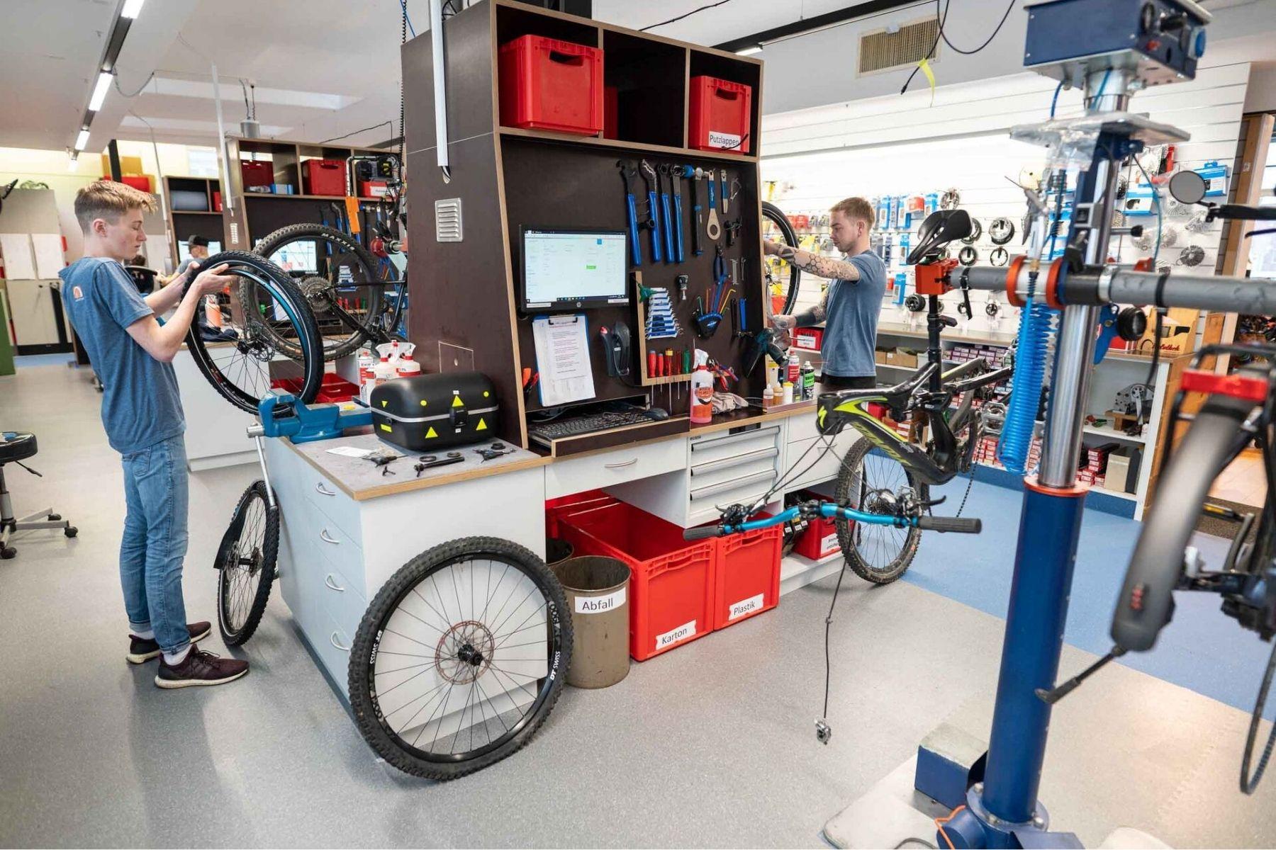 Massiver Personalmangel im Schweizer Fahrradfachhandel