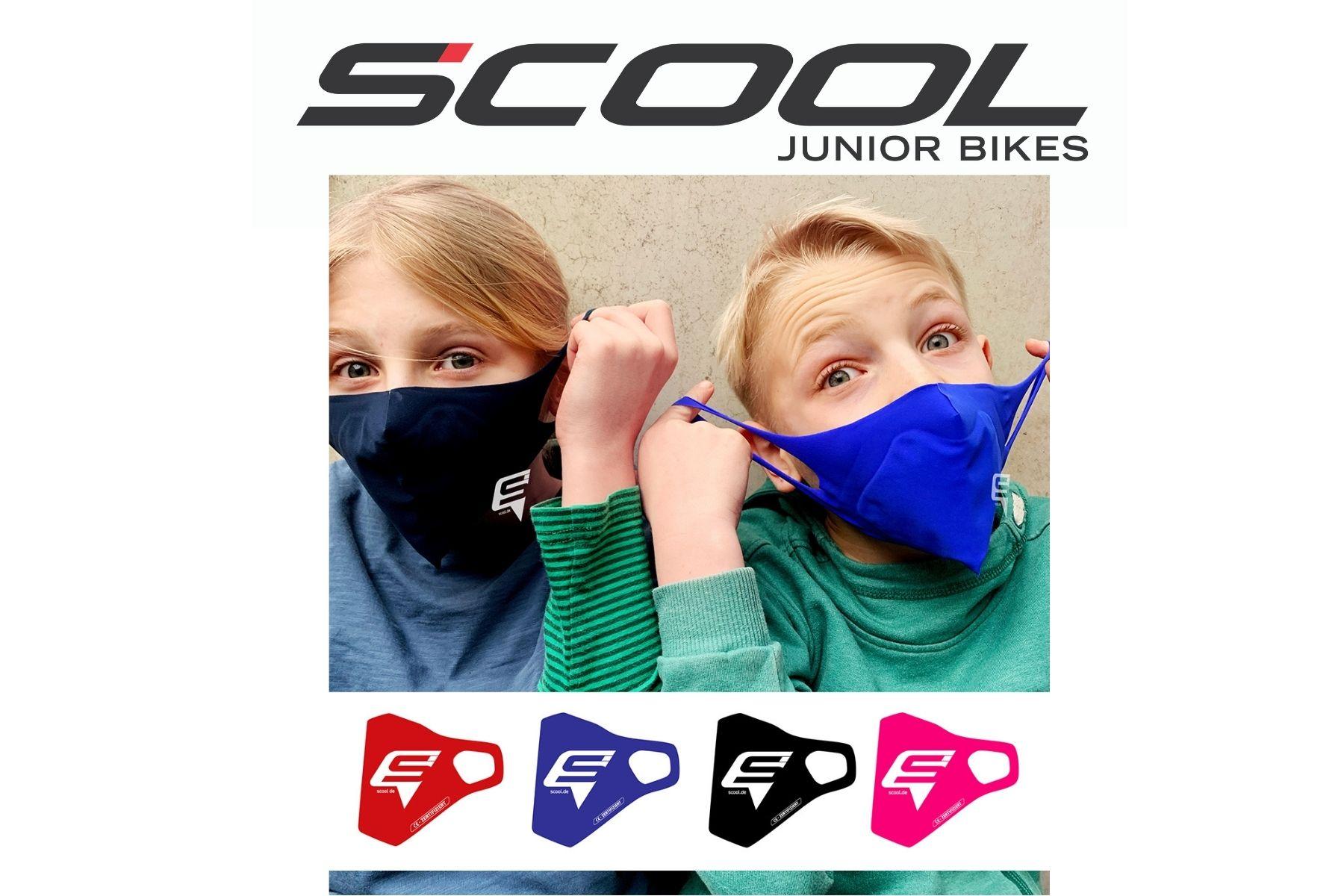 Juniorcare Schutzmasken vom Kinderfahrradhersteller