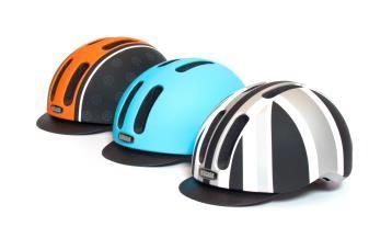 Metroride: In einer Größe erhältlich. Mittels Pad kann der Metroride individuell und optimal an den Kopf angepasst werden.