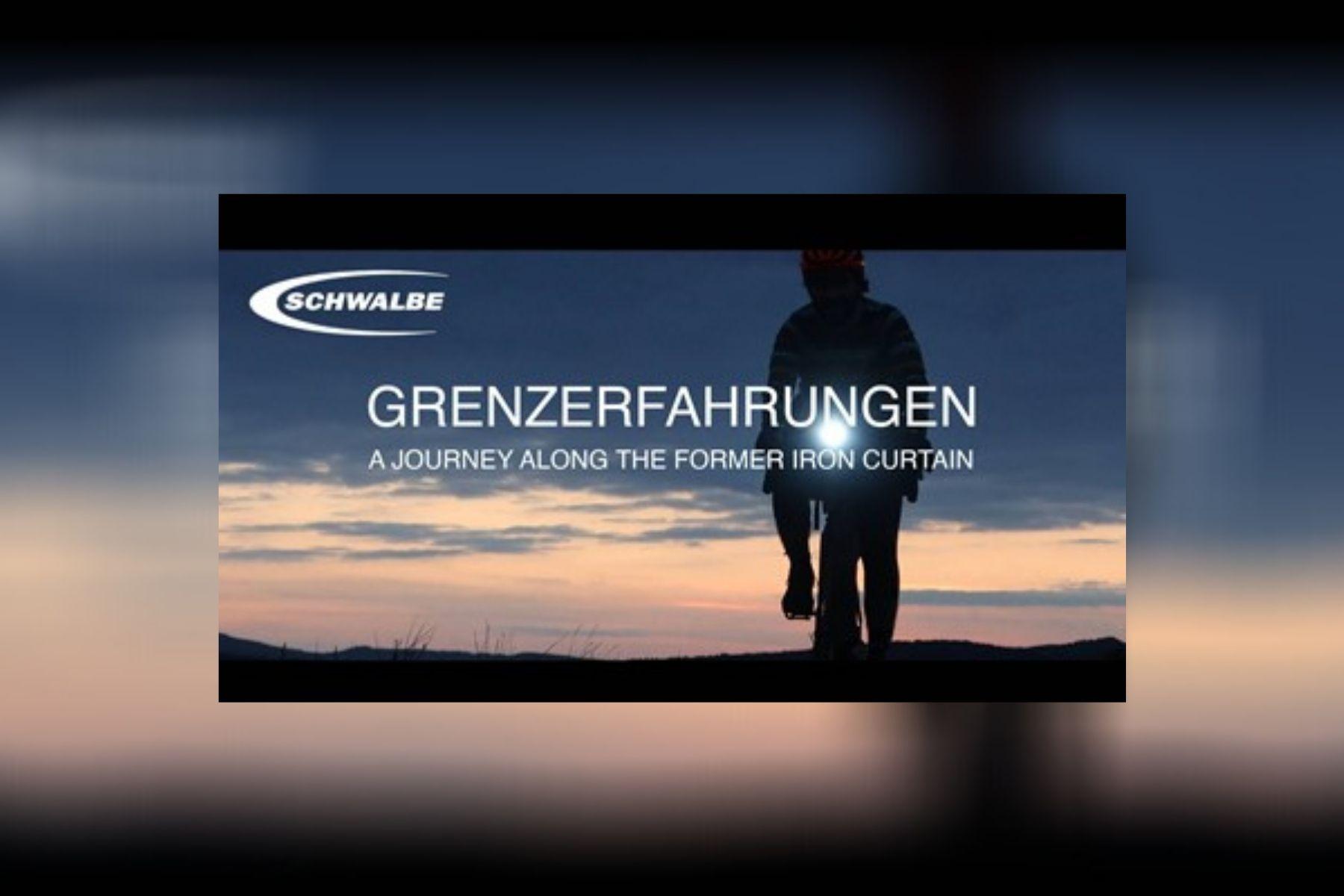 """Bikepacking mit Geschichte: Schwalbe sponsert Film """"Grenzerfahrungen"""""""
