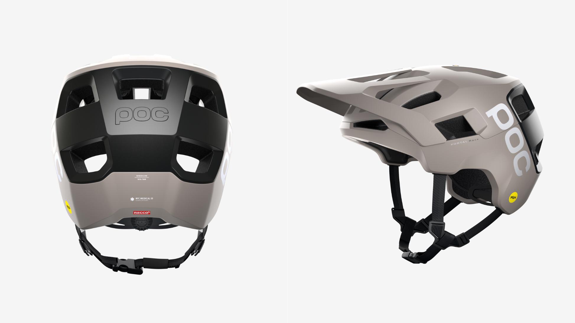 POC Fahrradhelm mit brandneuer Mips® Integra Technologie