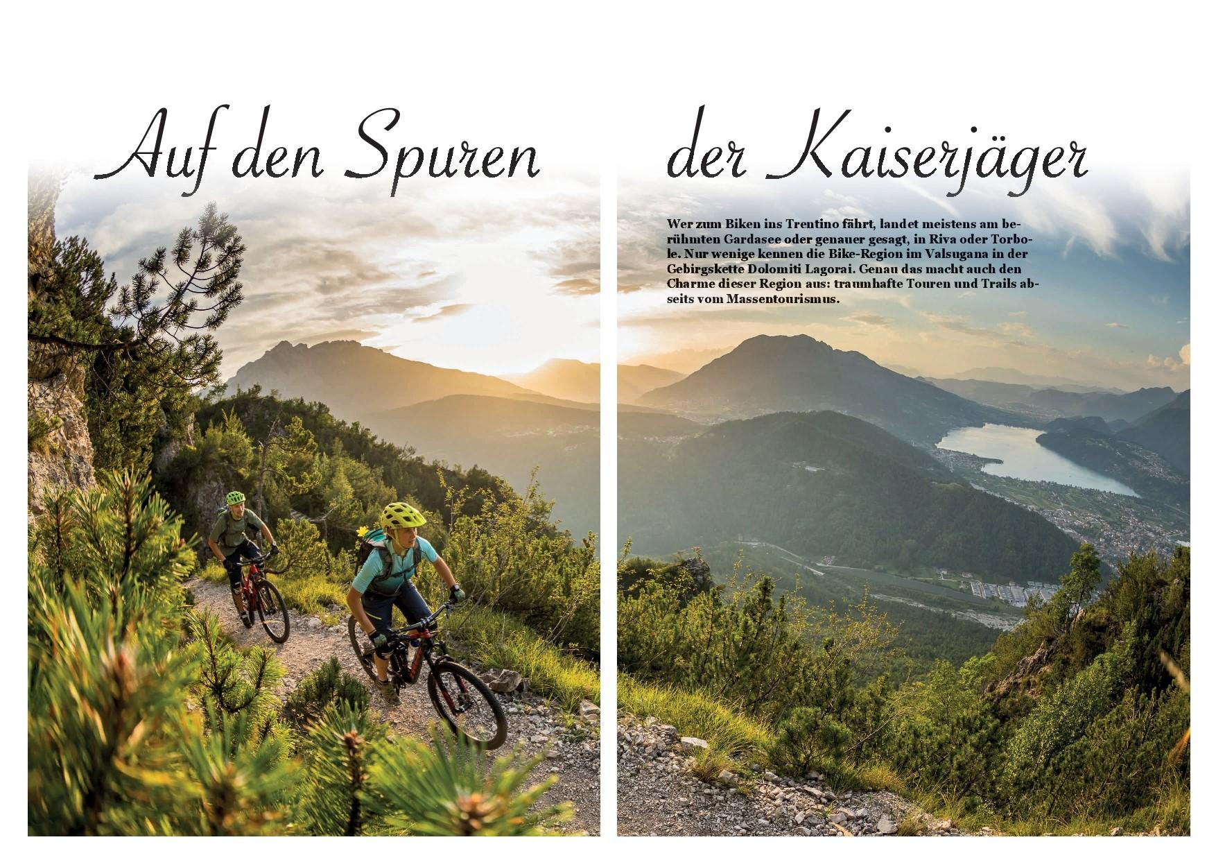 Geheimtipp Trentino - Mountainbike Holidays