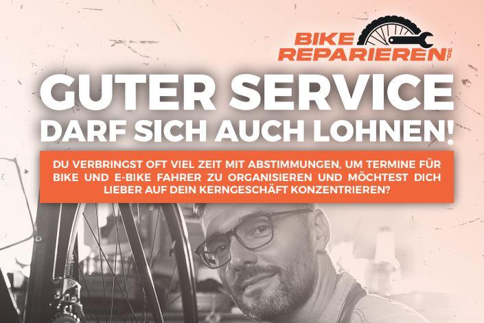Bike-angebot startet digitale Werkstattterminbuchung bikereparieren.de
