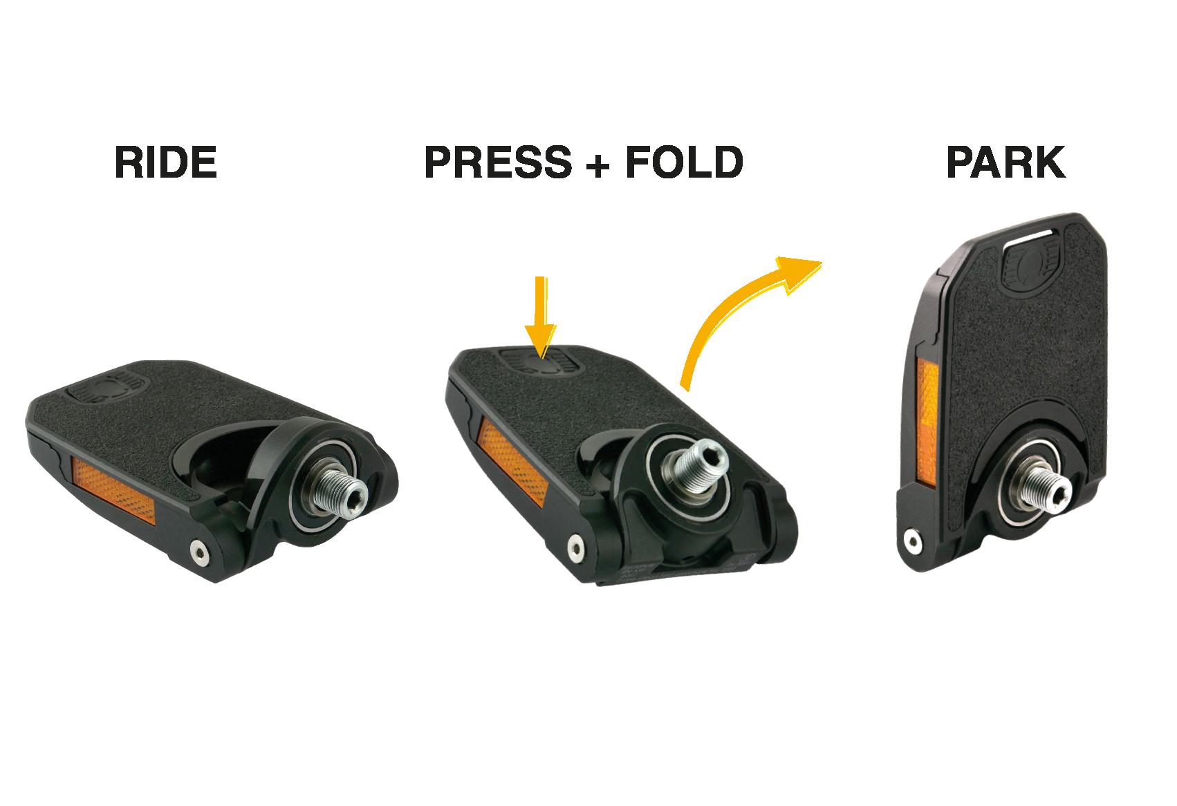 Neuheiten Eurobike: by,schulz Faltpedal – Z.1 Z-Line Fold