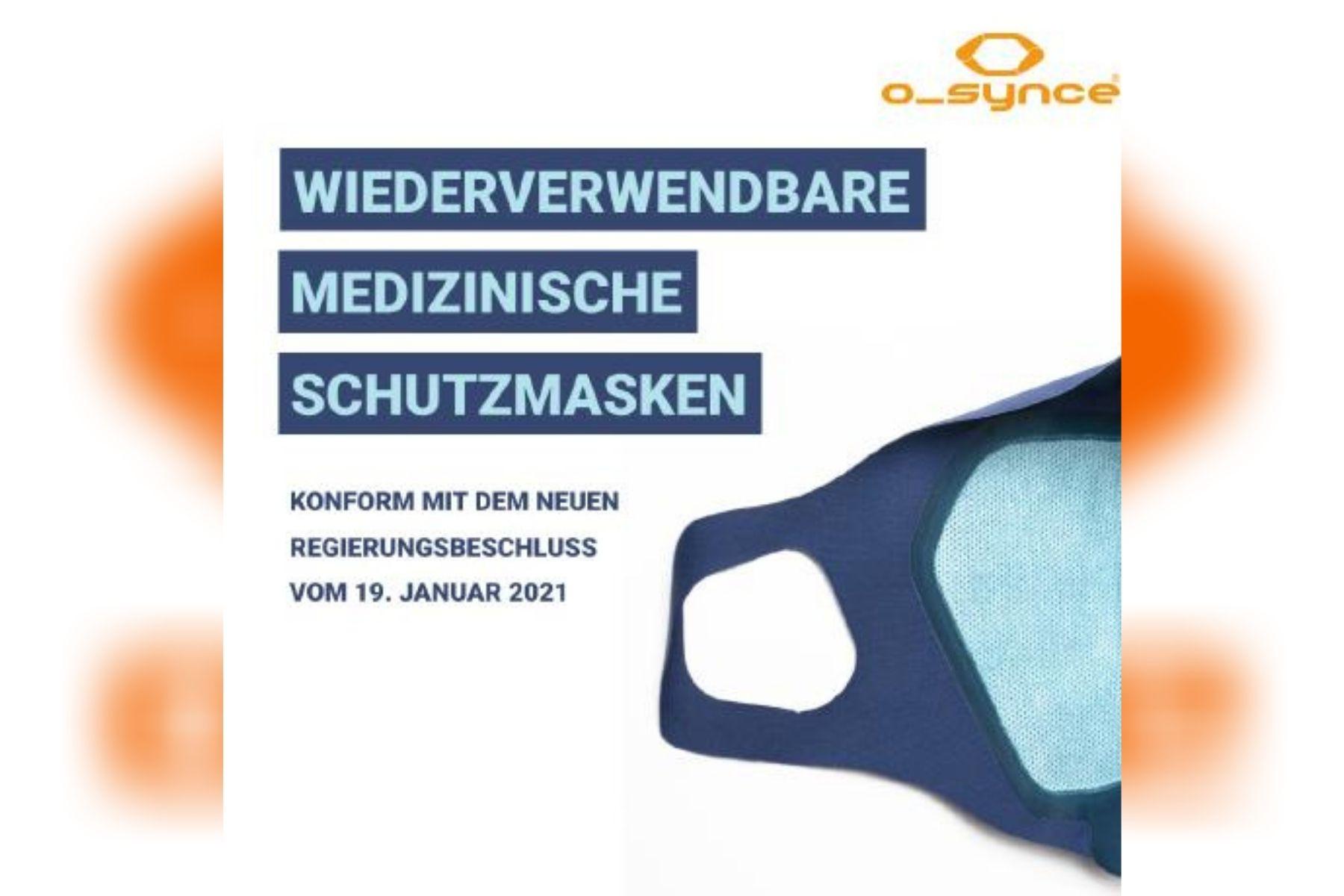Wiederverwendbare medizinische Schutzmasken von Momes GmbH