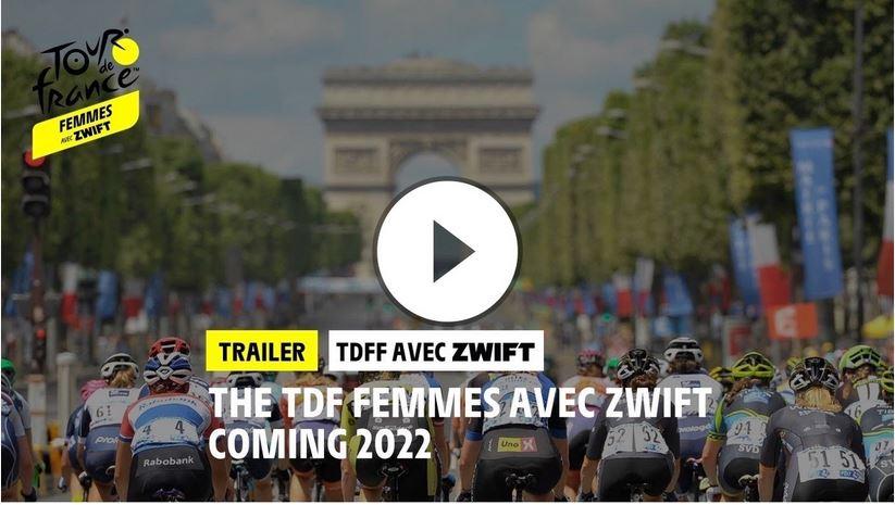 """ZWIFT IST PRESENTING PARTNER VON """"TOUR DE FRANCE FEMMES AVEC ZWIFT"""""""