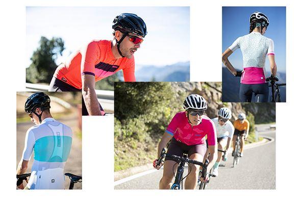 Das Angebot von Santini für alle, die auch an den heißesten Sommertagen nicht auf das Fahrrad verzichten