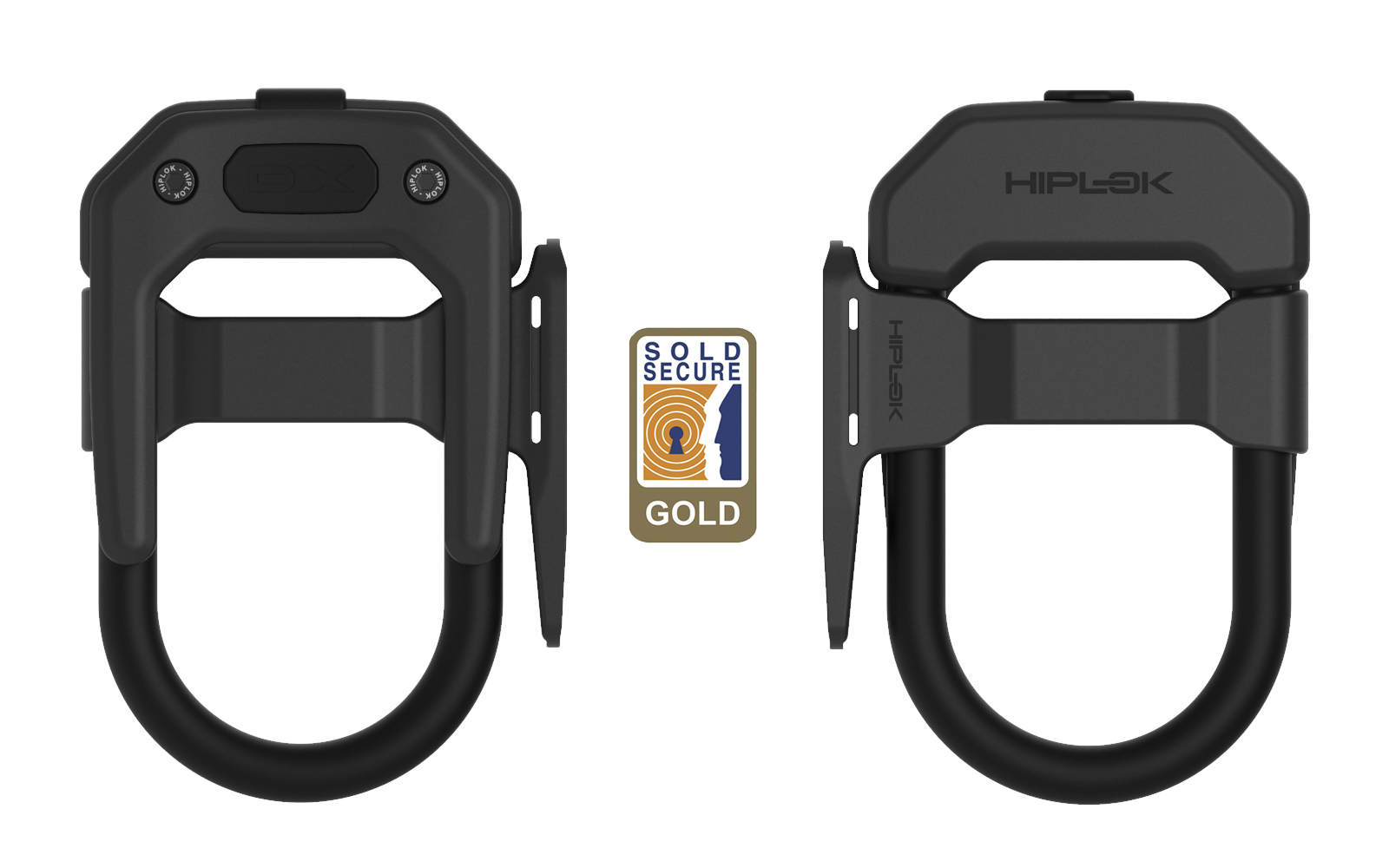 Hiplok DXF - Sold Secure Gold geprüftes DX Bügelschloss