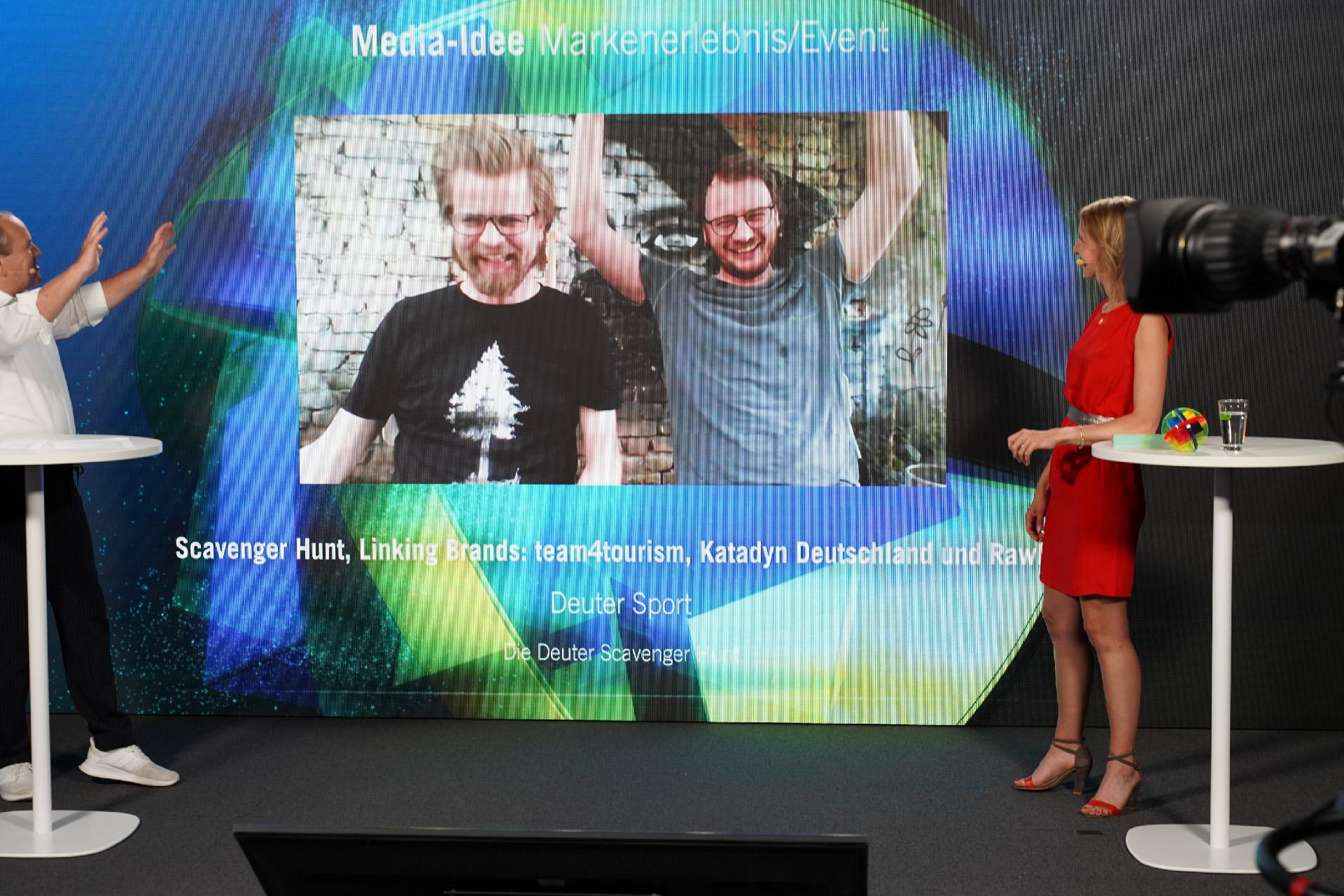 Scavenger Hunt gewinnt mit deuter den Deutschen Media Preis 2021