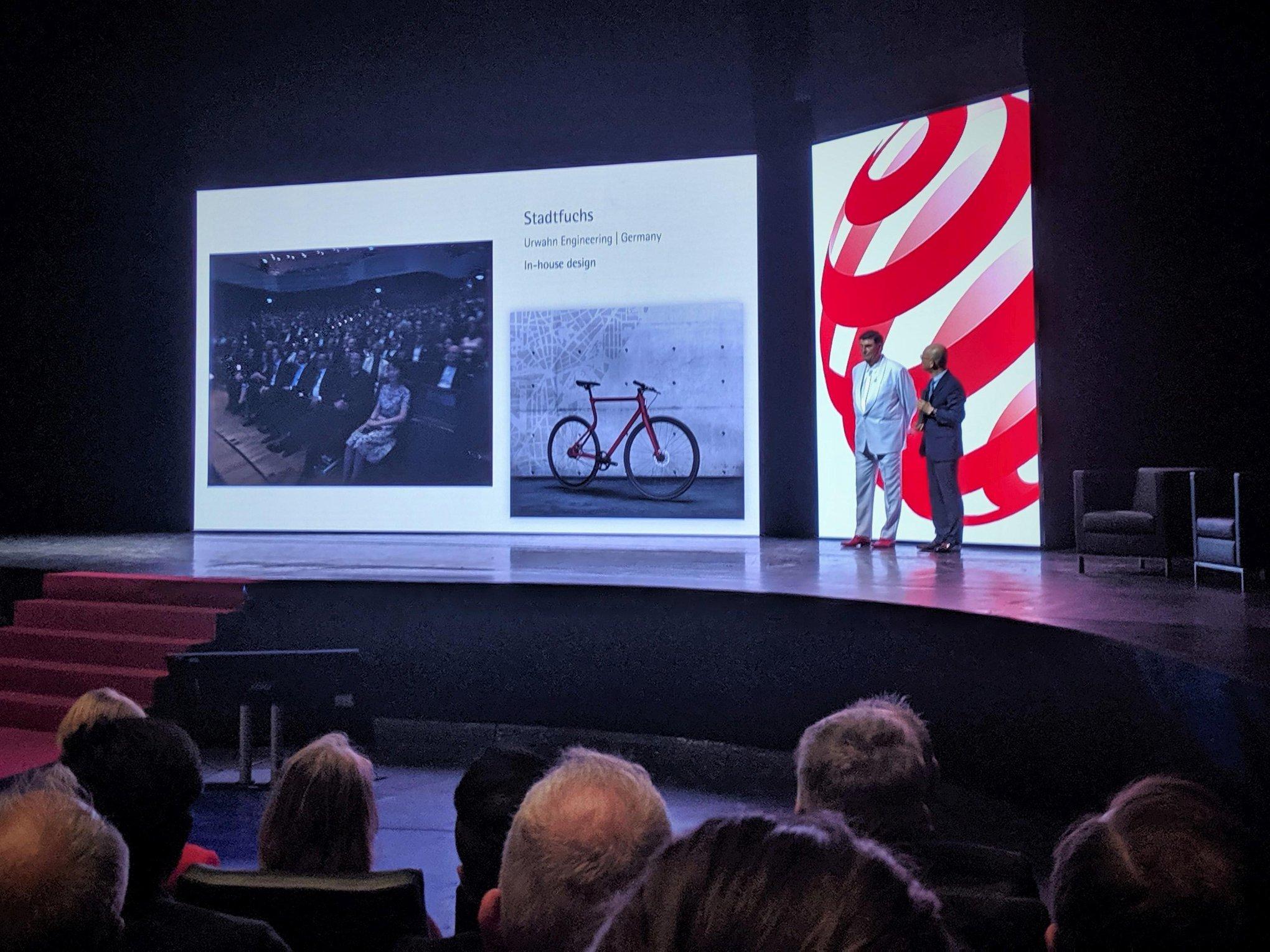 Die Bühne ist bereit für den Urwahn Stadtfuchs ©Urwahn Bikes
