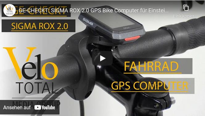 VIDEO: GE-CHECKT - SIGMA ROX 2.0 GPS Bike Computer für Einsteiger