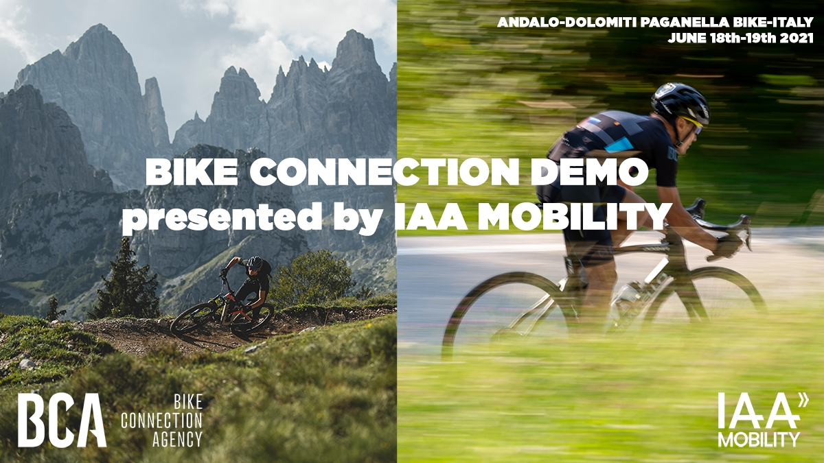 Medien Test-Event: Bike Connection Demo - supported by IAA MOBILITY