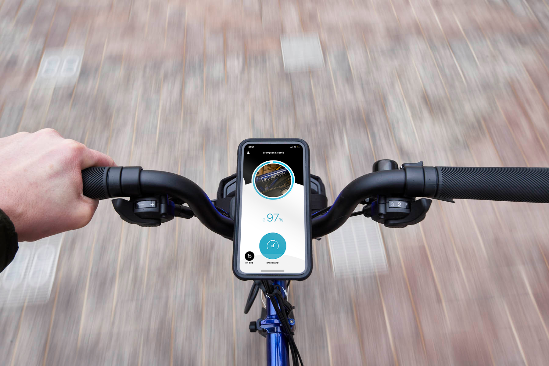 App-fahren! Brompton launcht iOS App für das Brompton Electric