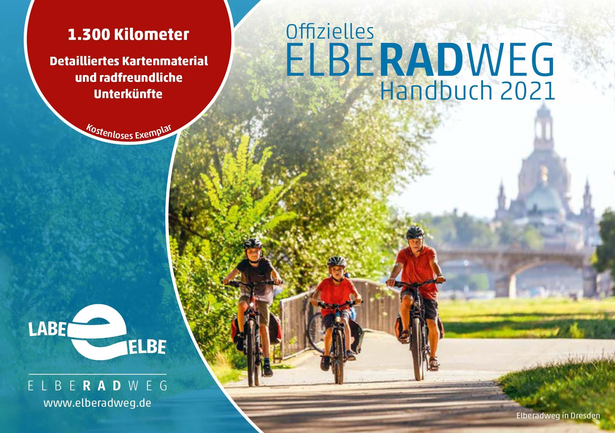 Vorfreude auf die Radsaison: Elberadweg Handbuch 2021 erschienen