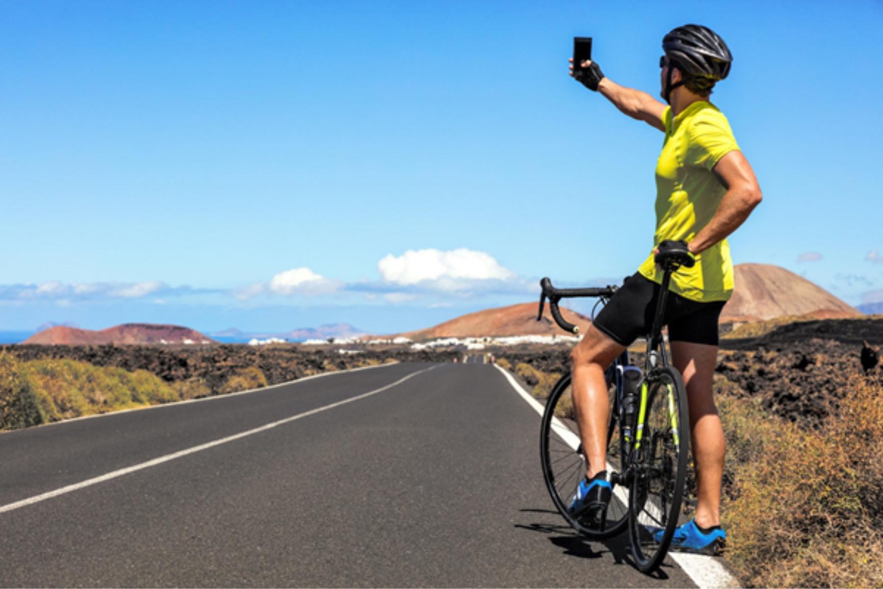 So wird die letzte Fahrradtour auf Einladungs- und Glückwunschkarten verewigt