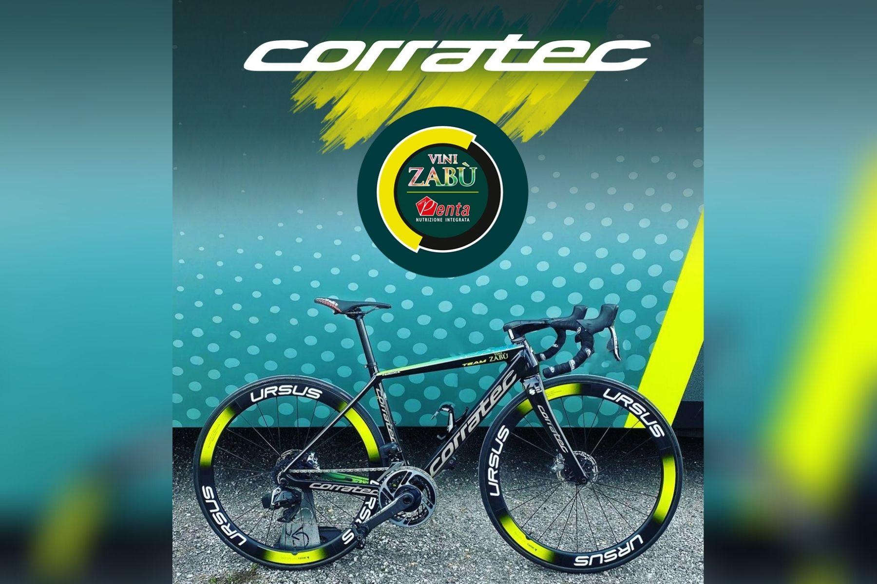 Corratec mit Vini Zabù zurück am Start