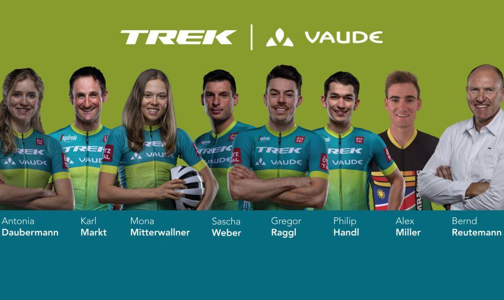 Team Trek-Vaude geht an den Start