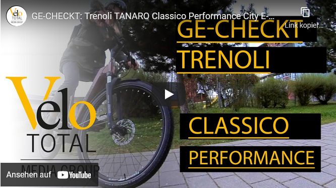 VIDEO: GE-CHECKT — Trenoli TANARO Classico Performance City E-Bike