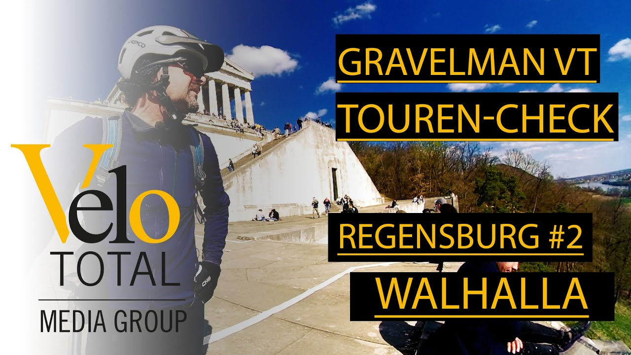 VIDEO: GRAVEL BIKE VLOG - TOUR #2 — Regensburg - Walhalla