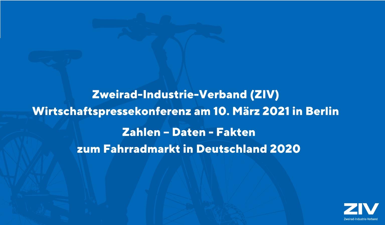 Zahlen – Daten – Fakten zum deutschen Fahrrad- und E-Bike-Markt 2020
