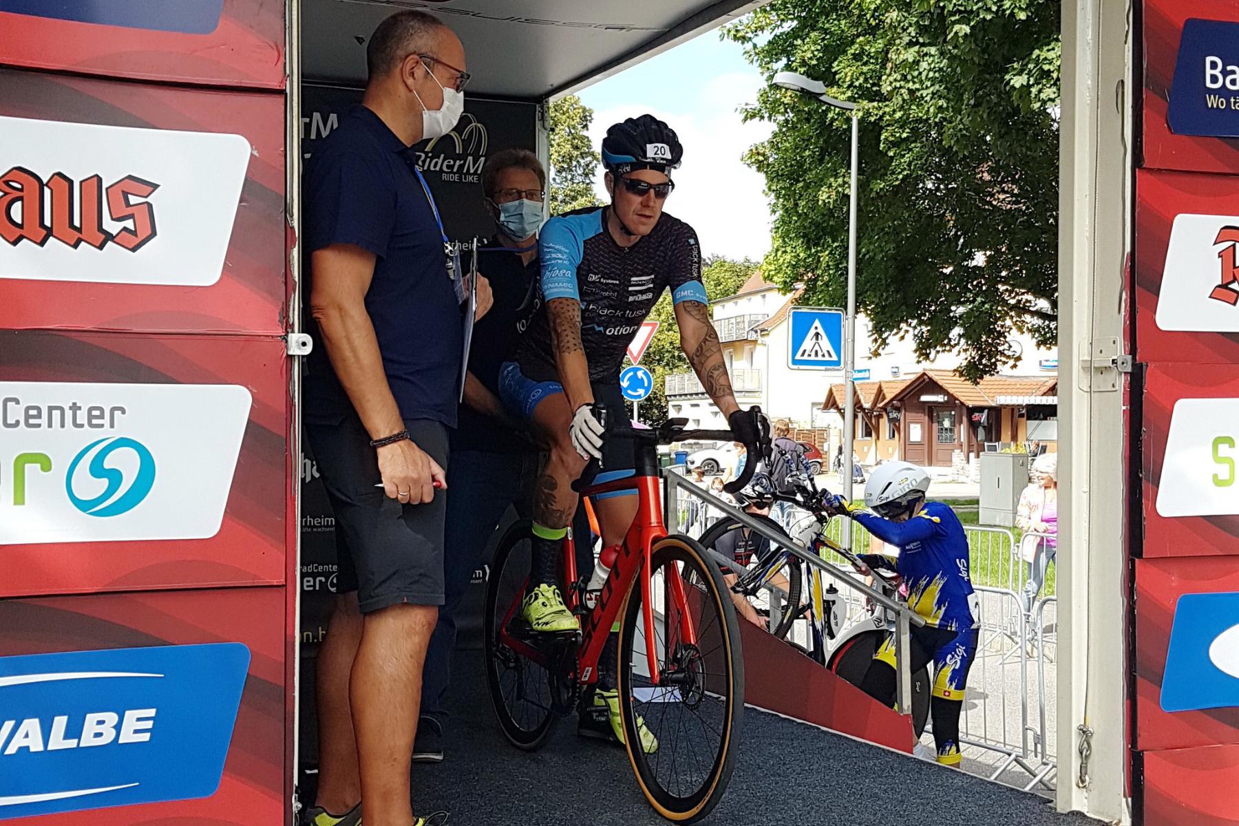 """Mark Jagenow betritt Neuland beim Straßen-Radrennen """"Riderman"""""""